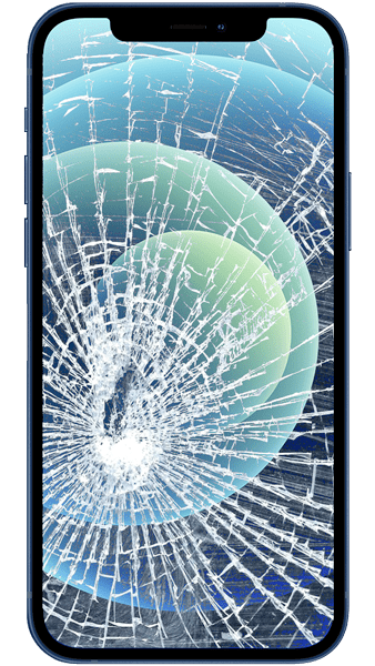 Cracked iphone screen repair in Dunmow, Essex
