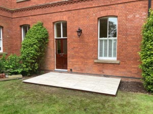 Patio and french door installation in Woodford London