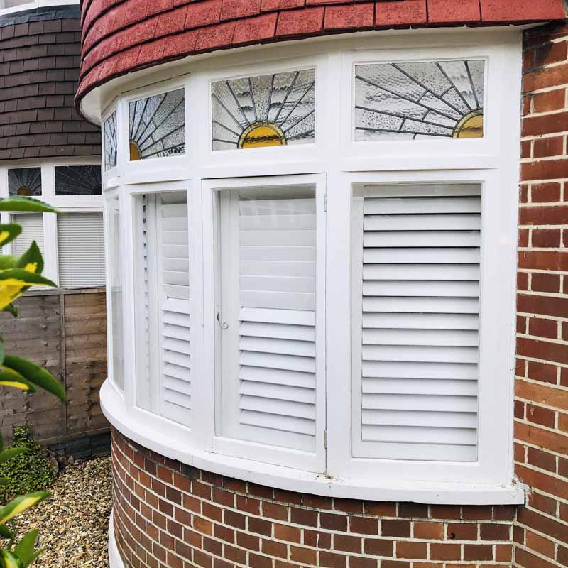 bay window shutters - kingston