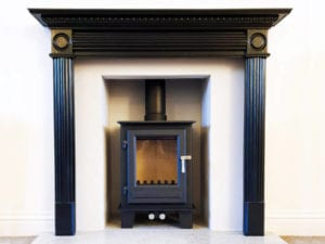 Clock-blithfield-stove-installation-takeley