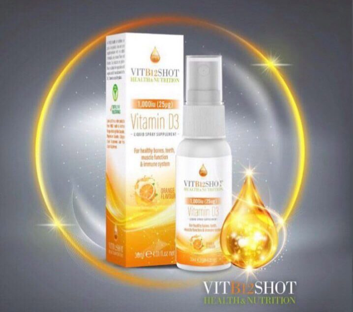 Vitamin D spray