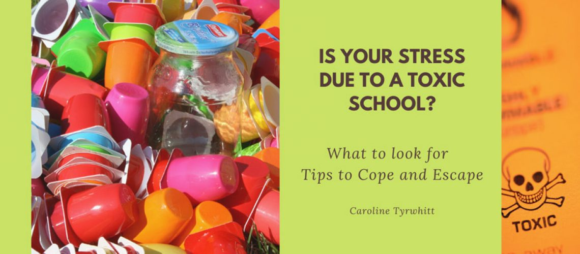 Is your stress due to a toxic school Banner
