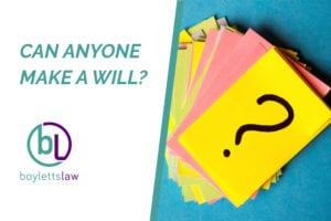 Question mark cards picture for can anyone make a will blog