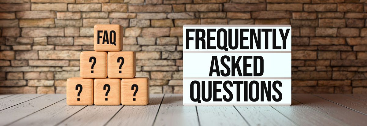 Sign for Frequently Asked Questions