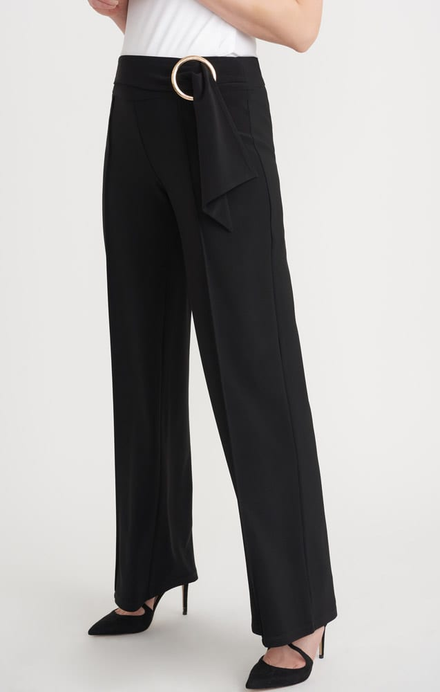 Joseph Ribkoff circle belt trousers