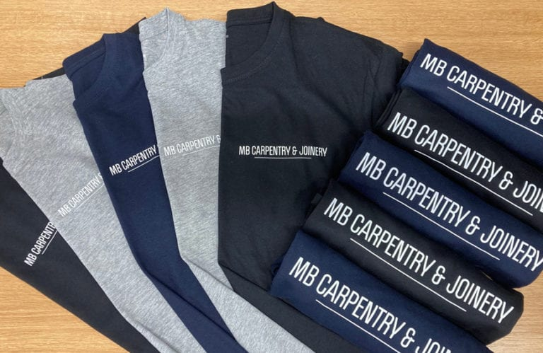 Business branded jumpers