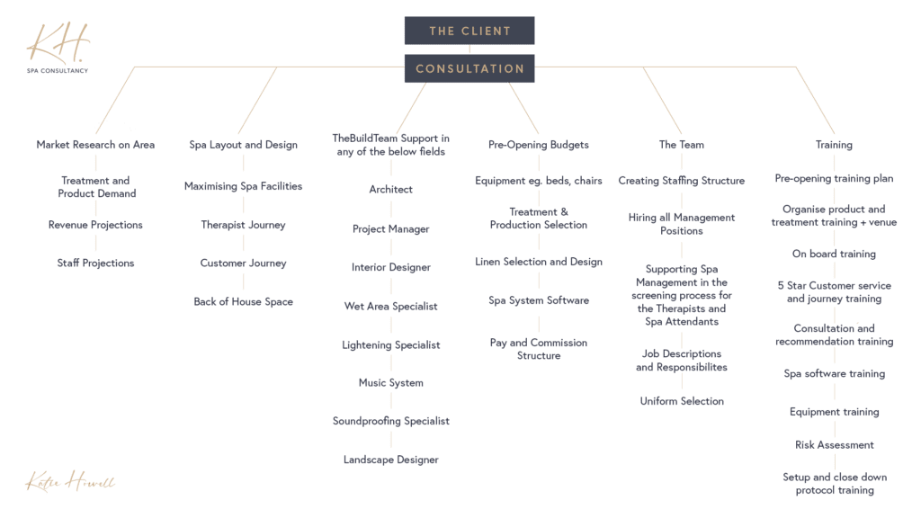 Spa Consultancy For Success Flow Chart