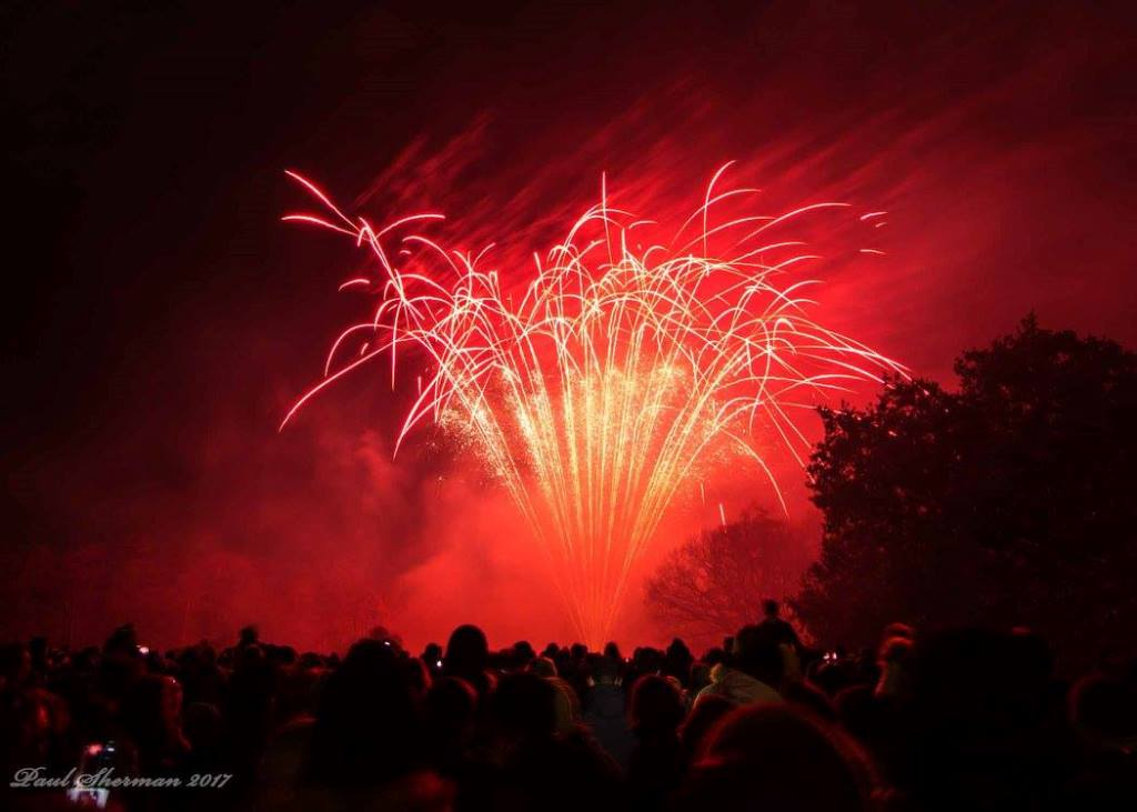 Fire Works in Christchurch Park