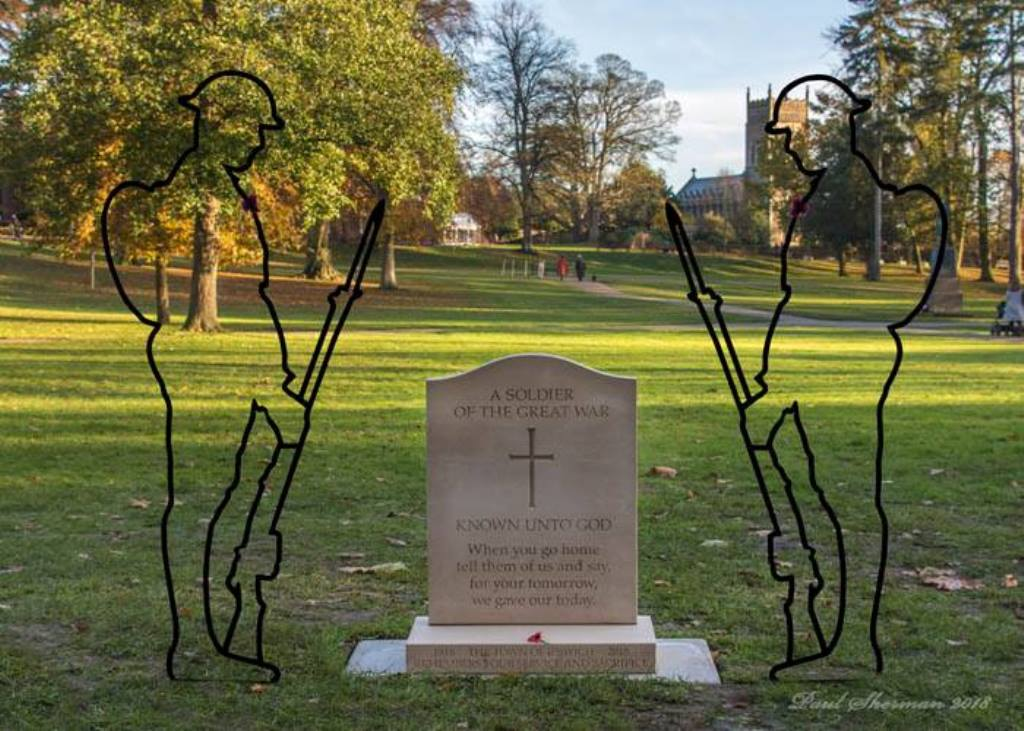 Christchurch Park we shall not forget