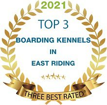 Warley Cross Kennels and Cattery Three Best Rated Award